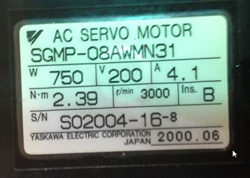 SGMP-08U314M www.dmebservice.com