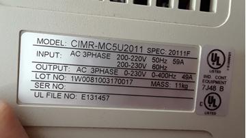 CIMR-MC5A2011 www.dmebservice.com